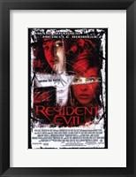 Framed Resident Evil