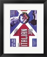 Framed Italian Job Michael Caine