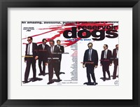 Framed Reservoir Dogs Cast with Blood Splatter
