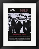 Framed Reservoir Dogs Film Review