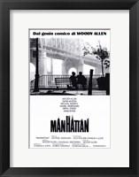 Framed Manhattan - red border