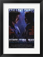 Framed Demolition Man