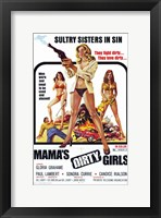 Framed Mama's Dirty Girls, c.1974