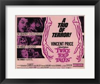 Framed Twice Told Tales movie poster