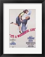 Framed It's a Wonderful Life Frank Capra