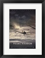Framed Pearl Harbor Jet Fighter Planes