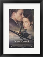 Framed Pearl Harbor Ben Affleck