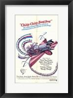 Framed Chitty Chitty Bang Bang - Car