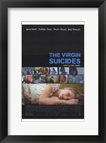 Framed Virgin Suicides (movie poster)