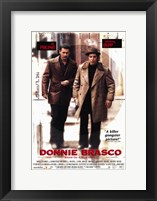 Framed Donnie Brasco