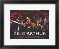 Framed King Arthur Keira Knightley as Guinevere