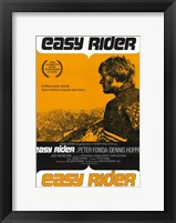 Framed Easy Rider Orange