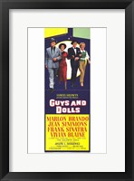 Framed Guys and Dolls Tall Movie