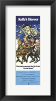 Framed Kelly's Heroes - They had a message for the Army