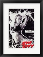Framed Sin City Jessica Alba as Nancy