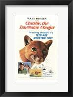 Framed Charlie  the Lonesome Cougar