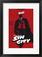 Framed Sin City Marv