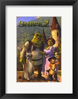 Framed Shrek 2 Family