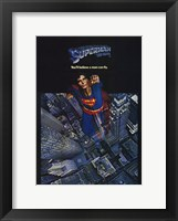 Framed Superman: The Movie Taking Off