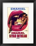 Framed Black Emanuelle