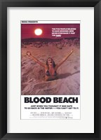 Framed Blood Beach