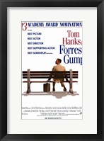 Framed Forrest Gump Best Picture