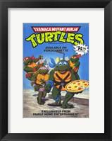 Framed Teenage Mutant Ninja Turtles Original Cartoon