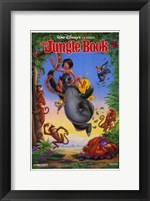 Framed Jungle Book Disney Classic