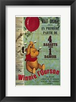 Framed Winnie the Pooh