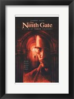Framed Ninth Gate Johnny Depp