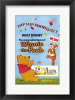 Framed Many Adventures of Winnie the Pooh