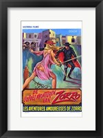 Framed Erotic Adventures of Zorro