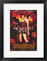 Framed Resident Evil - women standing