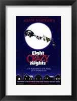 Framed Adam Sandler's Eight Crazy Nights