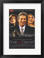 Framed Shall We Dance Richard Gere Jennifer Lopez