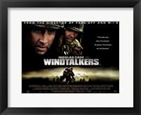 Framed Windtalkers - horizontal