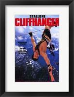 Framed Cliffhanger Stallone
