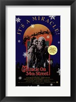 Framed Miracle on 34Th Street