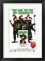 Framed Teenage Mutant Ninja Turtles 2: the Secr