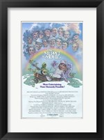 Framed Muppet Movie Kermit