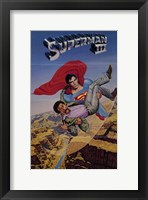 Framed Superman 3 Saving