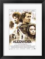 Framed Alexander - Fortune favors the bold