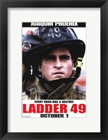 Ladder 49 Joaquin Phoenix Framed Print