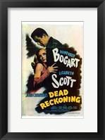Framed Dead Reckoning Lizabeth Scott & Humphrey Bogart