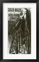 Framed Fifth Avenue Girl