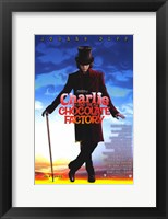 Framed Charlie and the Chocolate Factory Willy Wonka