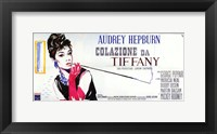 Framed Breakfast At Tiffany's Wide (italian)