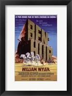 Framed Ben Hur Desert