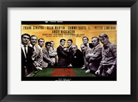 Framed Oceans 11 Colpo Grosso Pool Table