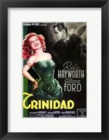 Framed Affair in Trinidad Rita Hayworth